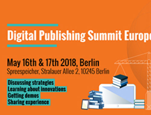 Eden Livres partenaire du Digital Publishing Summit Europe 2018 à Berlin